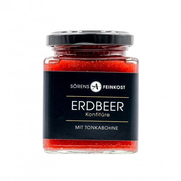 Erdbeer Konfitüre (200g)