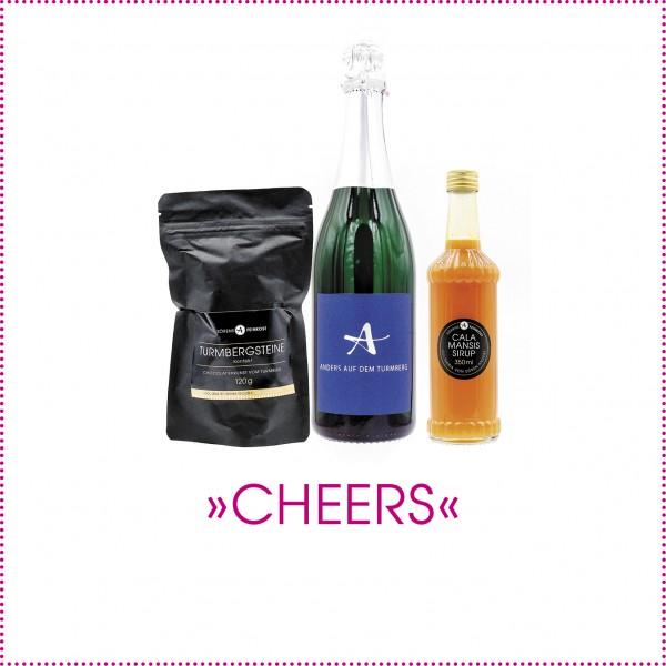 Geschenkpaket Cheers