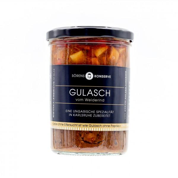 Gulasch vom Weiderind (350g)